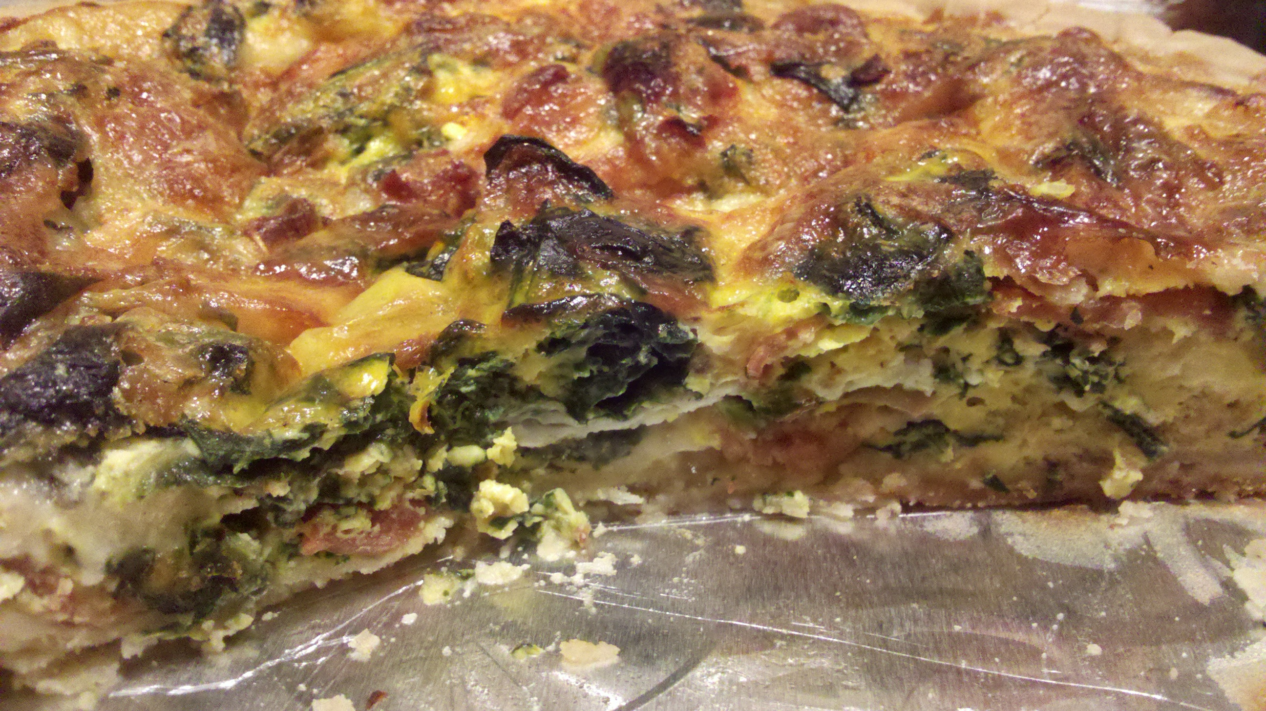 Spinach Quiche recipe | Quiche Recipes